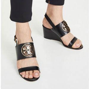 Tory Burch metal miller sandals for sale